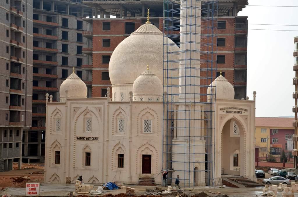 Mardin'in Taç Mahal'ı bitme aşamasında