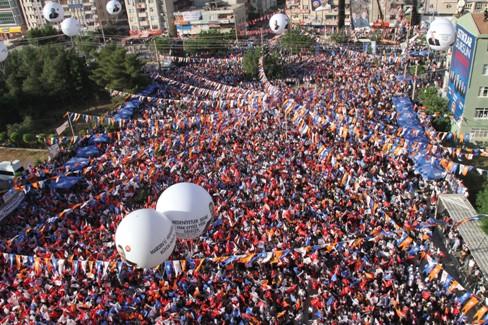Başbakan Erdoğan'ın Mardin Mitinginden