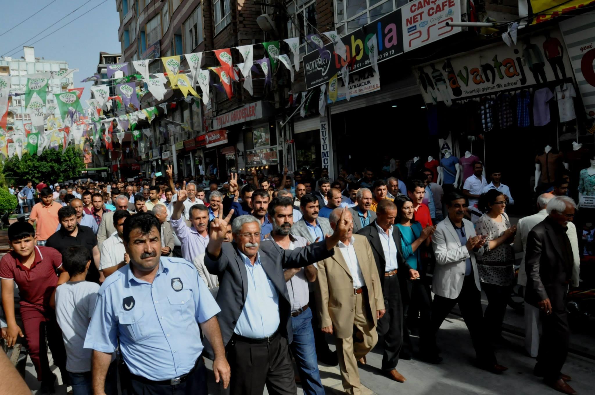 Selahattin Demiştaş Mardin'de konuştu