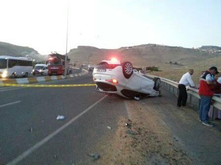 Mardin - Kızıltepe Karayolu'nda kaza