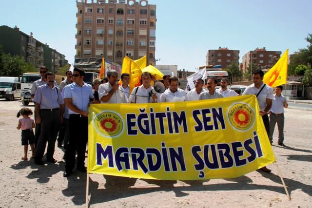 KESK Mardin Şubesinden Hak Gaspı Açıklaması