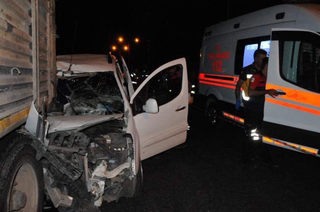 Diyarbakır Karayolu'nda Feci Kaza