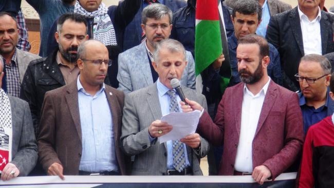 Mardinlilerden ABD, İsrail ve Fransa'ya ortak kınama