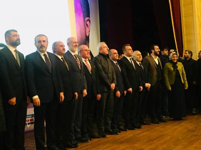 AK Parti'den Aday ve Aday Adayları ile buluşma toplantısı