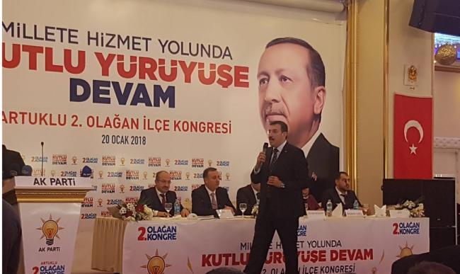AK Parti Artuklu Kongresi Yapıldı