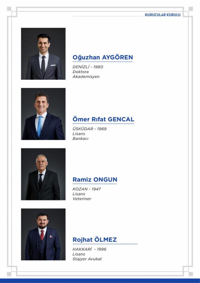 Ali Babacan'ın Partisinin Kurucular Listesi Belli Oldu: İşte Tüm İsimler