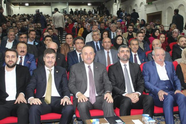 Bakan Mevlüt Çavuşoğlu Mardin'de
