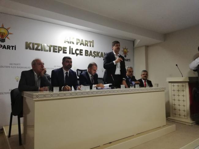 AK Parti'den Nusaybin Çıkarması