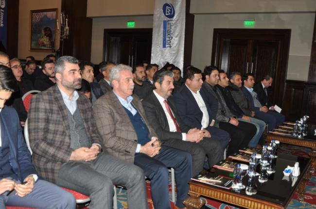 Limakport limanı Mardin'de İş adamlarına tanıtıldı