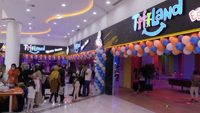 Bölgenin en büyük çocuk eğlence merkezi Mardian Mall'de açıldı