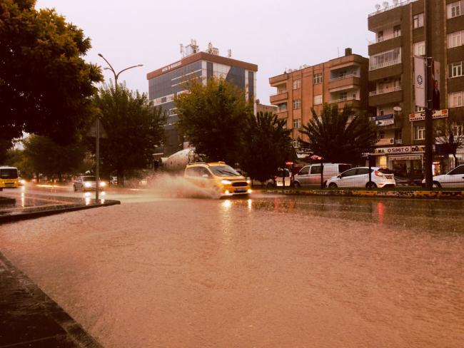 Mardin Yağmura Teslim
