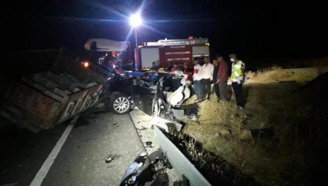 Midyat Dargeçit yolundaki kaza