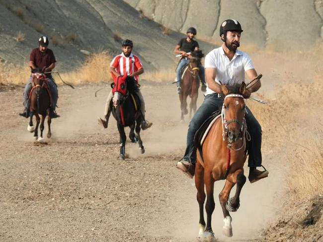 Rahvan atları yarıştı