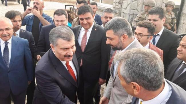 Sağlık Bakanı Mardin'de