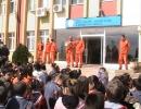 Atak Kolejinde Sivil Savunma Tatbikatı