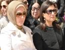 Emine Erdoğan ve Nimet Çubukçu Mardin'de
