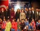 Bakan Mehmet Şimşek Mardin'de