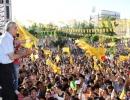 BDP'nin Mardin Mitinginden kareler