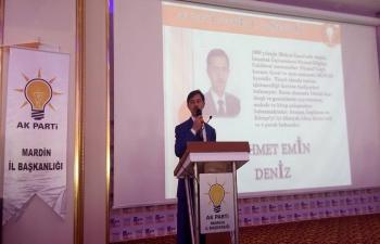 Mehmet Emin Deniz'in ilk seçim konuşması