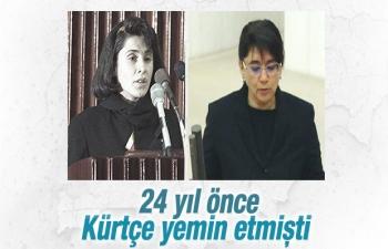 Leyla Zana Yemin etti - HDP Ağrı Milletvekili