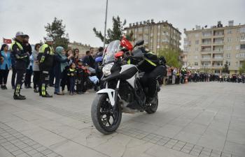 10 Nisan Polis Günü Etkinliklerle kutlandı