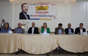 AK Parti Mardin Teşkilatı 'Vefa' Programında Bir Araya Geldi
