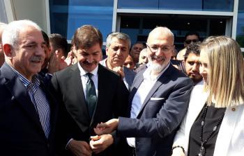 AK Partili adayların ilk ziyareti Kızıltepe'ye