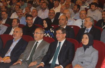 Ahmet Davutoğlu Mardin'de