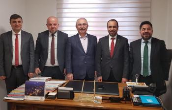 Anadolu Yayıncıları'nda MGYC'ye ziyaret