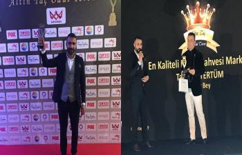 Artukbey Kahve'ye Altın Taç Ödülü