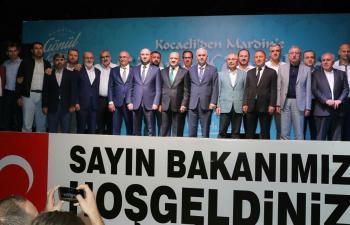 Bakan Fikri Işık Mardin'de