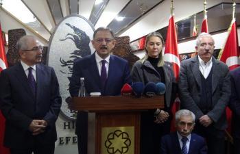 Bakan Özhaseki Mardin'de
