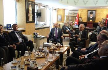 Başbakan Yardımcısı Fikri Işık Mardin'de