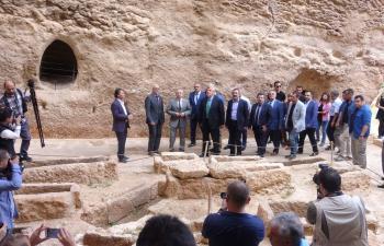 Dara'da Bin 400 yıllık galeri mezarlık