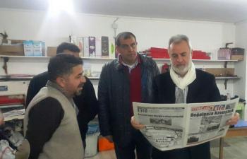 Bölünmez'den 10 Ocak Gazeteciler Günü Ziyareti