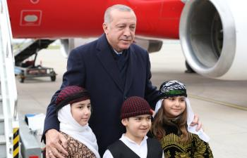 Cumhurbaşkanı Erdoğan, Mardin'de