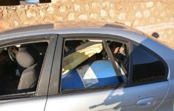 Dargeçit'te 650 kilo bomba yüklü araç imha edildi