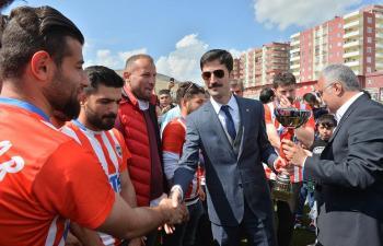 Derikspor'da Şampiyonluk Coşkusu