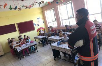 Dicle İlkokulu'nda farkındalık Etkinlikleri
