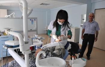 Diş Sağlığı Merkezi'ne çevre ilçelerden yoğun ilgi