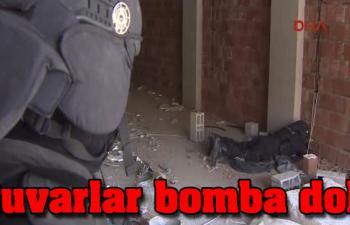 Duvarlar bomba dolu