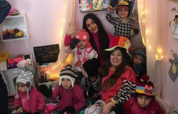 Elif öğretmen kendisini çocukların mutluluğuna adadı