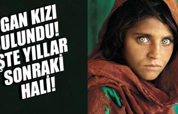 Fotoğrafıyla ünlenen Afgan kızının 20 yıl sonraki hali