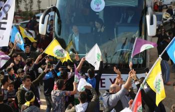 HDP Kızıtepe'de Miting Düzenledi
