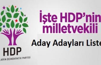 İşte HDP Mardin Milletvekili Aday Adayları