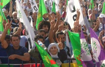 HDP'den Mardin'de Demokrasi Mitingi
