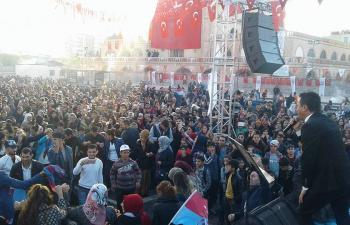 'Hamsi Festivali'nde Horon Halaya Karıştı