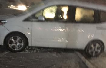 Kar yağışı nedeniyle onlarca araç kaza yaptı