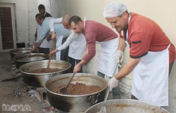 Kışın lezzeti kavurmalar, kazanlarda pişirilmeye başlandı