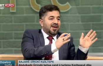 Kızıltepe TRT KURDİ'de tanıtıldı
